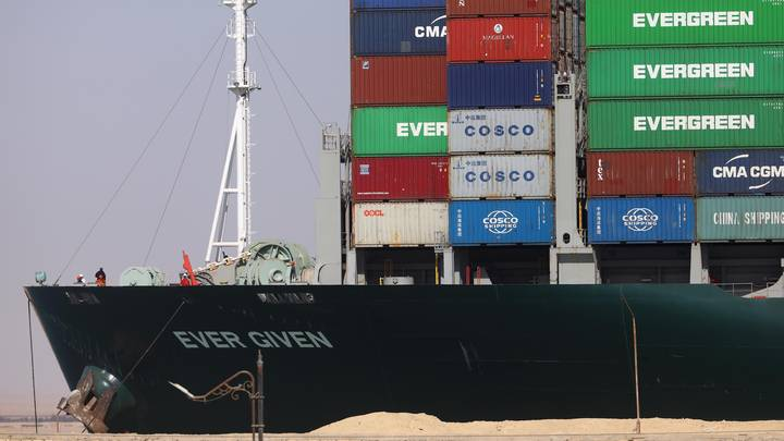 Ship Carrying Huge Load Of Sex Toys Is Now Free After Ever Given Removed From Suez Canal