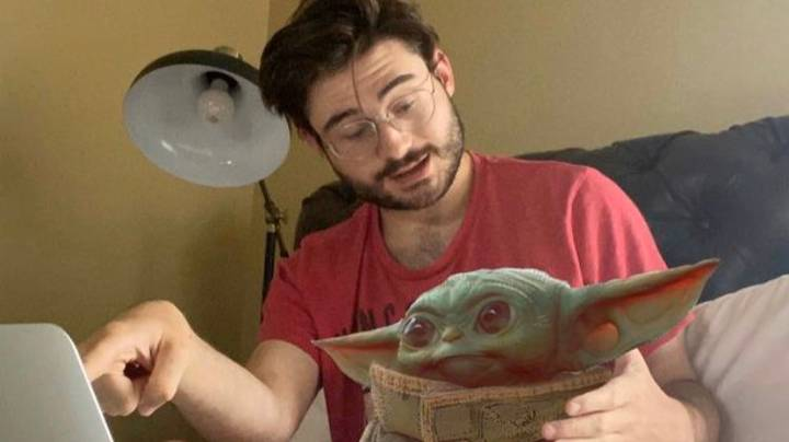Man Banned From Tinder After Someone Reported Him For Baby Yoda Photo