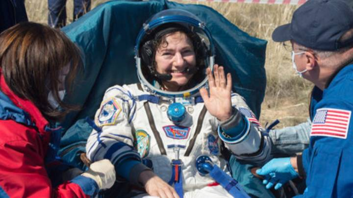 Astronauts Return To Coronavirus-Stricken Earth After More Than 200 Days In Space