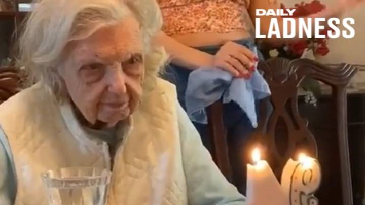 Grandma Goes Viral With Unexpected Wish In Response To 94th Birthday Cake