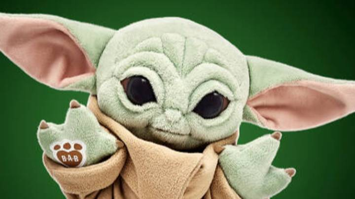 Build-A-Bear Shares First Look At Baby Yoda Stuffed Toy