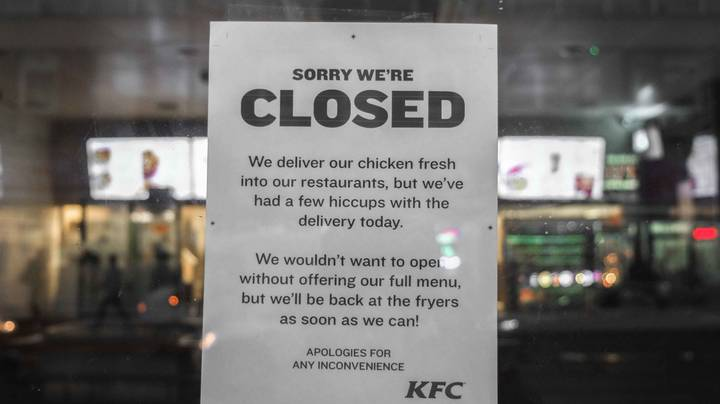 KFC 'Doesn't Know' When It Will Reopen Over 700 Restaurants