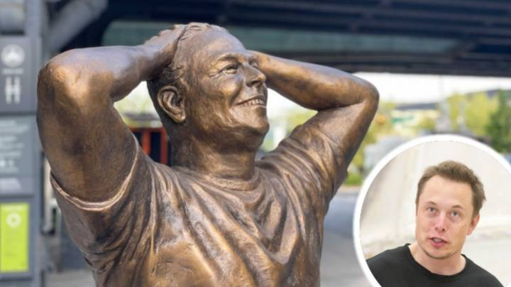 Life-Size Statue Of Elon Musk Mocked After Being Unveiled