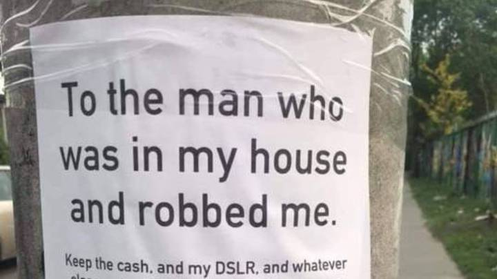Heartbreaking Letter Asks Burglar To Return Pics Of Dog's Last Day Alive