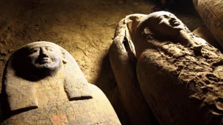 Archaeologists Find 13 Coffins In Egyptian Burial Site That Have Been Sealed For 2,500 Years