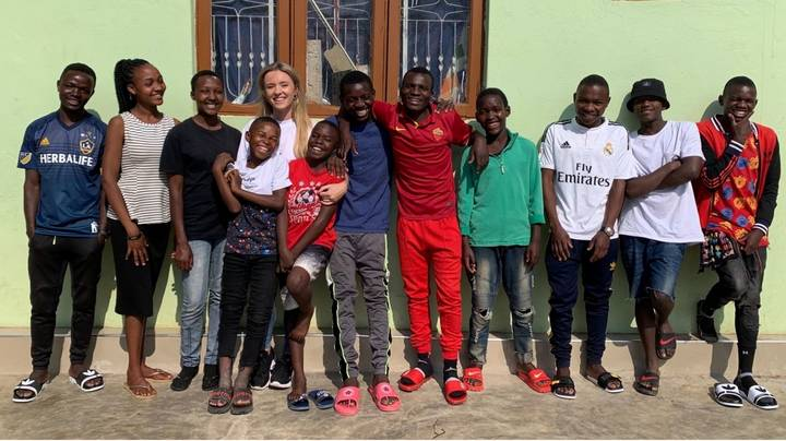 Woman Takes In 14 Tanzanian Children After Volunteering At African Orphanage