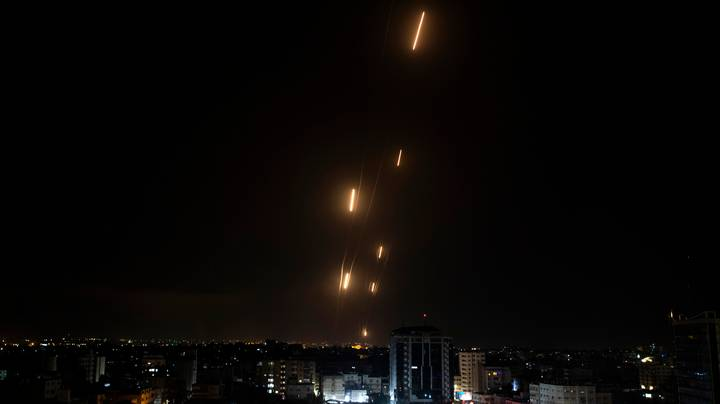 Dozens Of Rockets Fired At Tel Aviv As Tensions Between Israel And Palestine Escalate