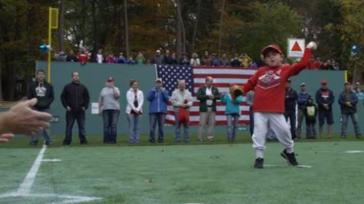 Make-A-Wish Foundation Build Custom Fenway Park In Young Lad's Back Garden