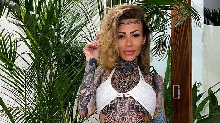 Covered tattoos women in Covered the