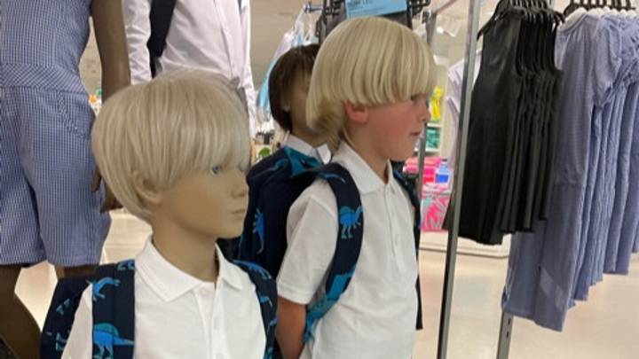 Mum Shopping In M&S Spots Mannequin That's Dead Ringer For Her Son