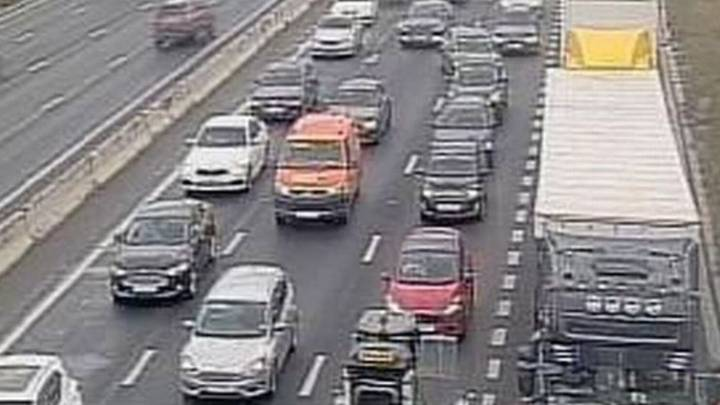 Motorway Was Forced To Close After 32,000 litres Of Gin Leaked Onto Road