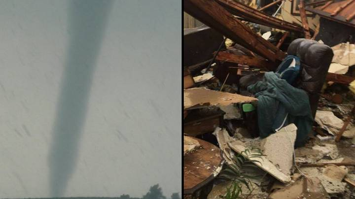 Two Dead After Tornadoes Hit Oklahoma And Wisconsin