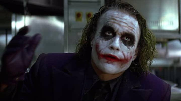 Heath Ledger's 'Joker' Voted The Best Movie Villain Of All Time