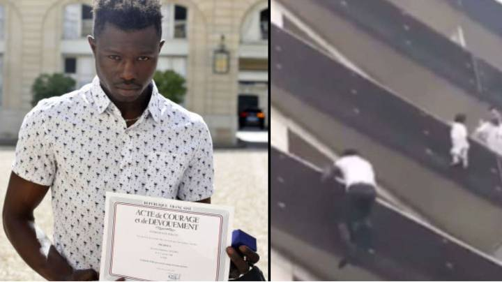 A Hero Who Climbed Up A Building To Save A Child Has Been Made A French Citizen