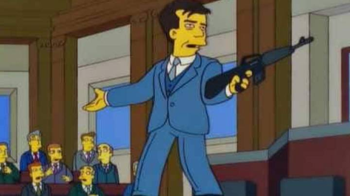 People Think The Simpsons Predicted Capitol Hill Riots