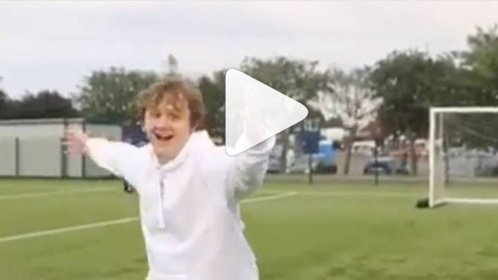 Watch Lewis Capaldi Use Instagram Crossbar Challenge To Announce He's Playing TRNSMT 2019
