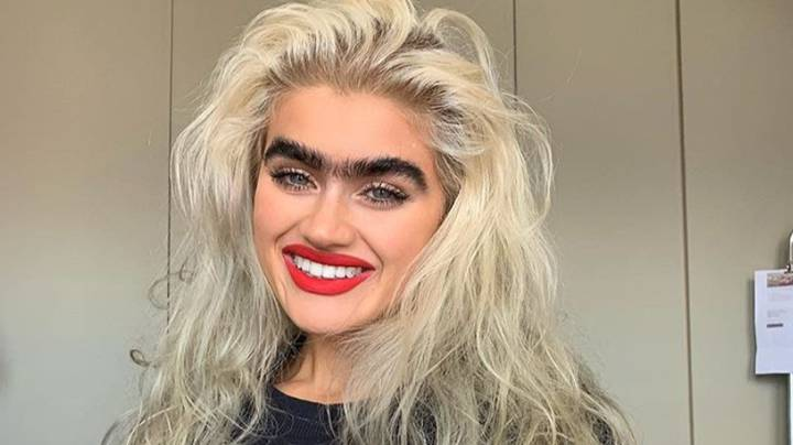 Model With Incredible Monobrow Gets Death Threats For Her Look