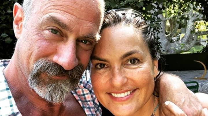 Law & Order: SVU Stars Christopher Meloni And Mariska Hargitay Have A Reunion During Lockdown