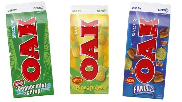OAK Unveil Three New Lolly-Inspired Flavoured Milks