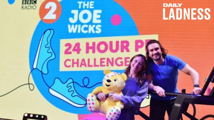 Joe Wicks Raises £1,500,000 For Children In Need With 24-Hour Workout