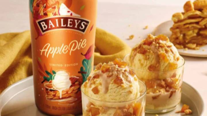 Baileys Has Launched A Brand New Apple Pie Flavour For Autumn