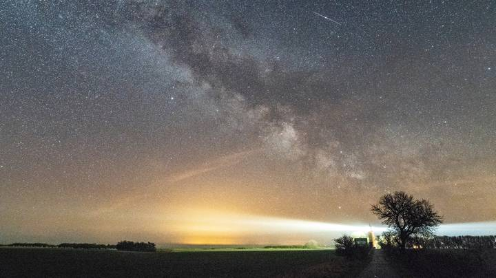 The Lyrid Meteor Shower Will Be Visible In The Skies Tonight