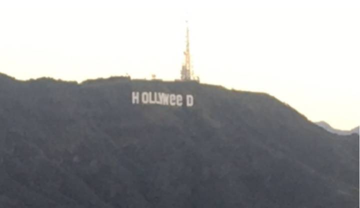 Two Artists Claim They Created the Hollyweed Sign In LA