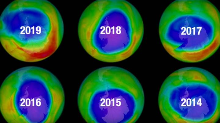 Hole In Ozone Layer Now Smallest Since Its Discovery, NASA Says