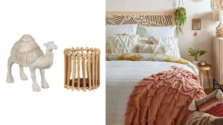 Shoppers Can't Get Enough Of B&M's New Boho Homeware Range