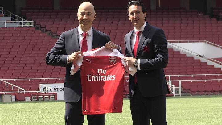 Arsenal's Club Magazine Just Made A Huge Mistake In Unai Emery's Welcome Issue