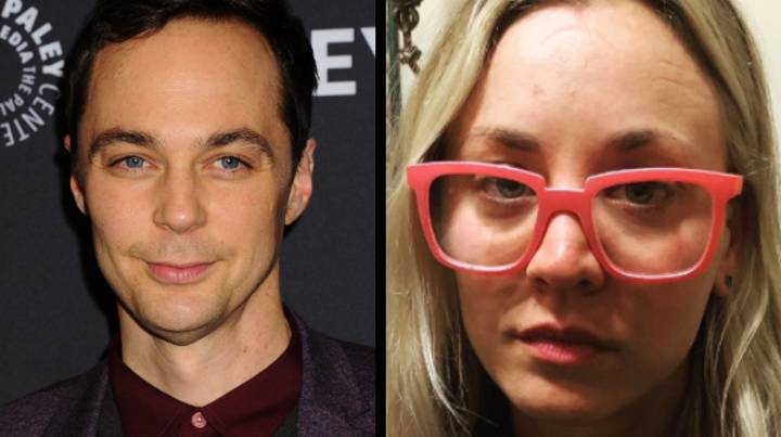 Jim Parsons From 'The Big Bang Theory' Just Ruined Kaley Cuoco's Birthday