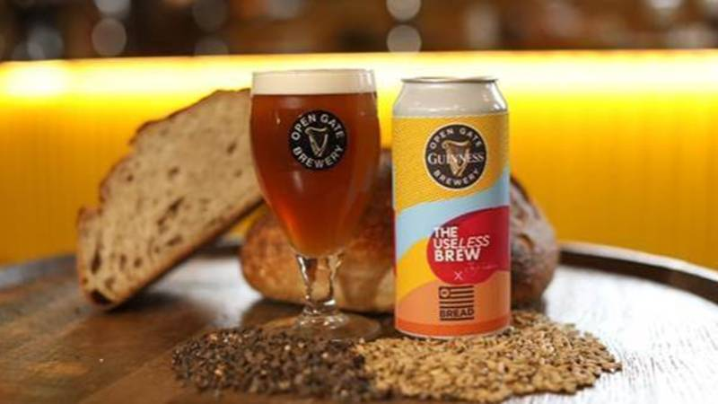 Guinness Are Launching A Sustainable Beer Made From Bread