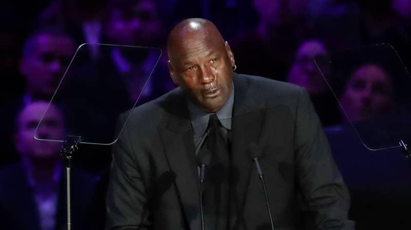 Michael Jordan Jokes About 'Crying Jordan' Meme During Kobe Memorial