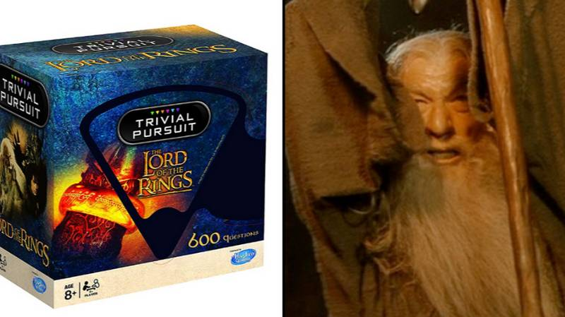 'Lord Of The Rings' Trivial Pursuit Is Available To Buy For Christmas