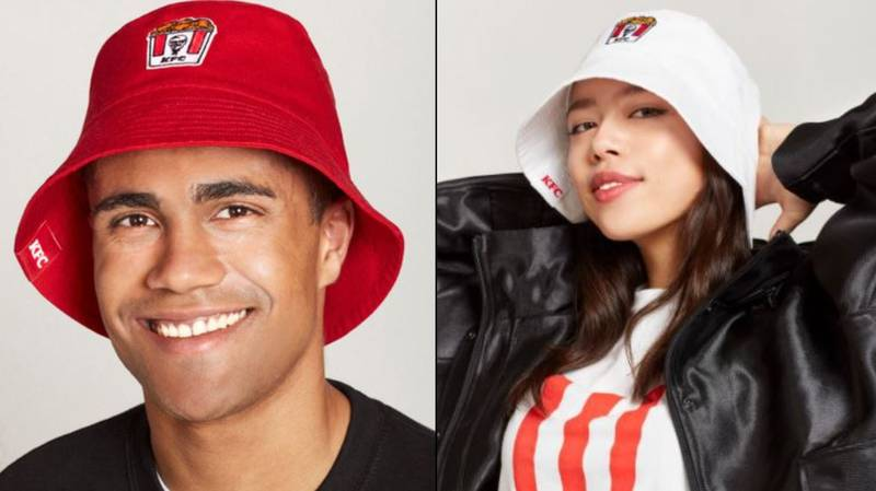KFC Launches Bucket Hats To Raise Money For Red Nose Day
