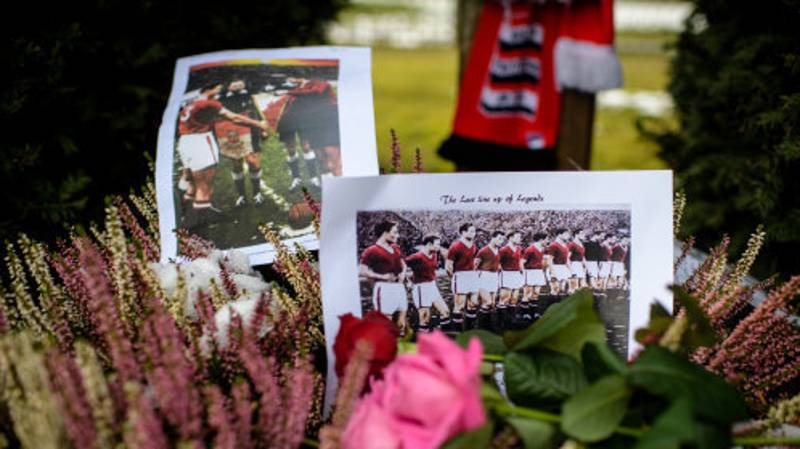 Football World Pays Respects On 61st Anniversary Of Manchester Utd Munich Air Disaster