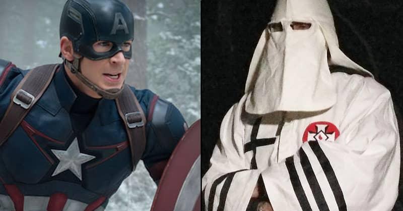 Chris Evans Has A Pop At KKK Leader David Duke On Twitter