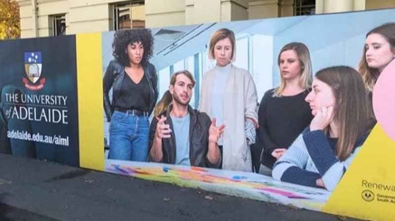 Photo Advertising 'Degree In Mansplaining' At University of Adelaide Goes Viral