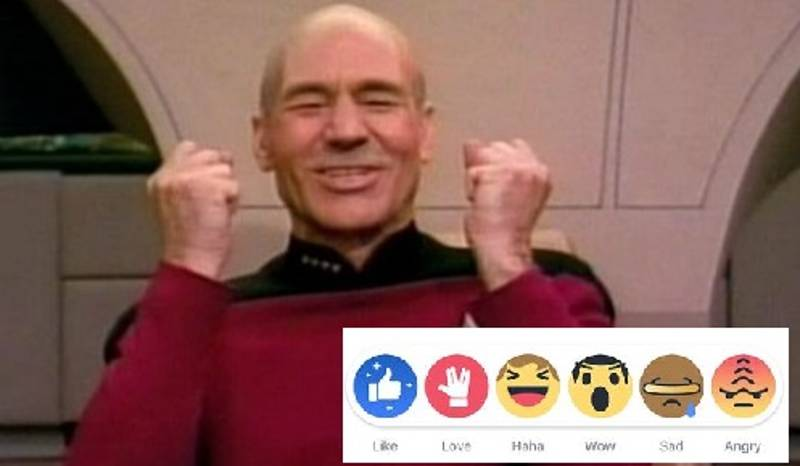 Facebook To Celebrate Star Trek's 50th Anniversary With New Like Buttons