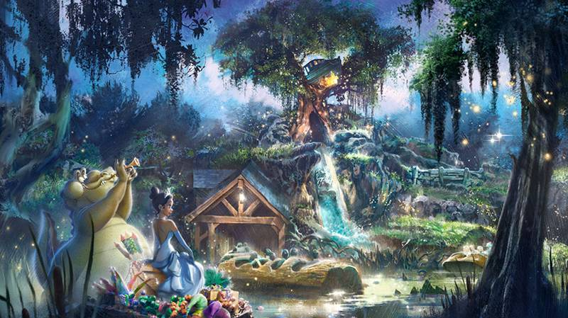 Disney Changing Theme Of Splash Mountain To Princess And The Frog