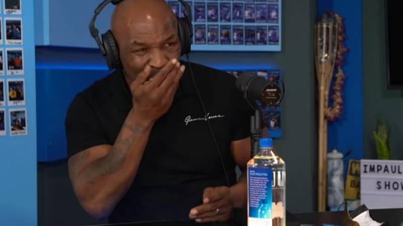 Mike Tyson Ate Four Grams Of Mushrooms On Logan Paul's Podcast