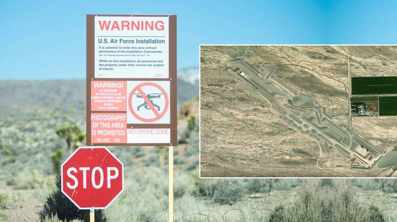 Google Maps: The Mysterious Underground Base Found In Area 51