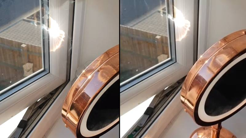 Woman Posts Summer Warning About Leaving Mirrors By Your Windows