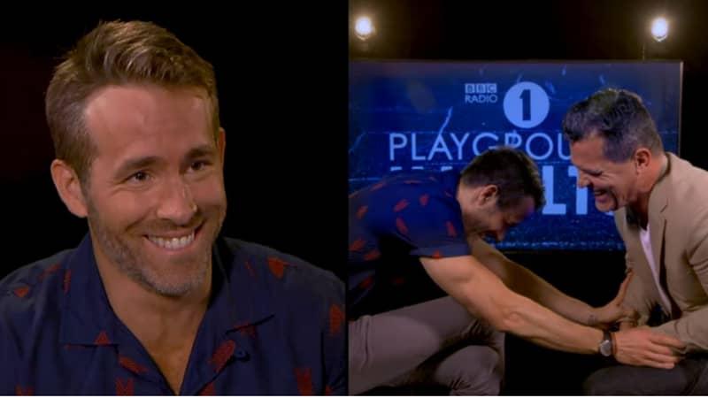Ryan Reynolds And Josh Brolin Trade Playground Insults