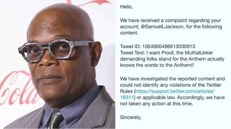 Samuel L Jackson Shares Report From Twitter After Appearing To Troll Trump