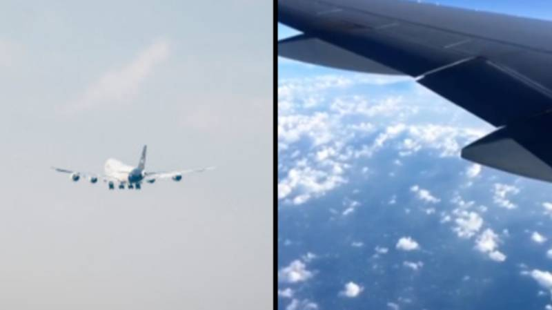 Plane Filmed From Different Perspective Shows It's Much Faster Than You Think