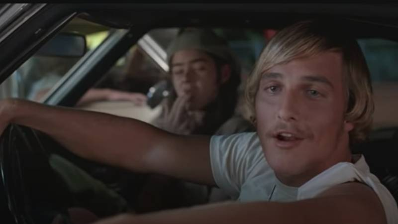 Matthew McConaughey Explains How Famous 'Alright Alright Alright' Line Came About In Dazed And Confused