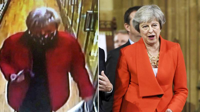 Cops Hunting Theresa May Lookalike Suspected Of Stealing Woman's Purse
