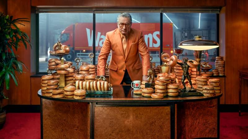 Robert De Niro Stars In New Warburtons 'GoodBagels' Advert