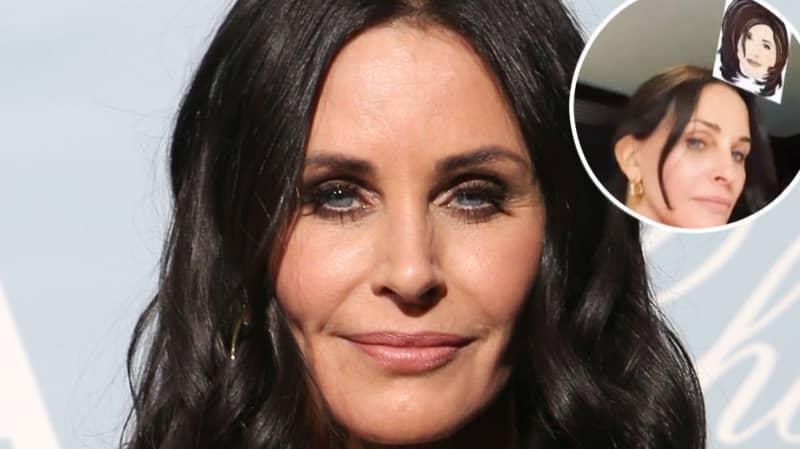 Courteney Cox Repeatedly Fails To Get Monica Geller On Friends Instagram Filter
